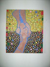 Halle saale, Teuscher, Zeitgenössische kunst, Malerei
