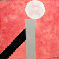 Malerei, Mischtechnik, Balance
