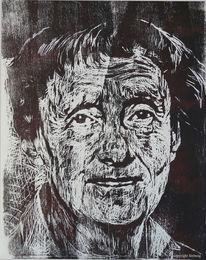 Xilografia, Noun de kunst, Portrait, Beoefenaar
