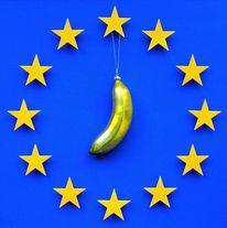 Europa, Mond, Stern, Mischtechnik