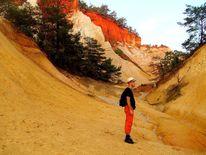 Landschaft, Erdfarben, Provence, Malen
