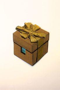 Schachtel, Karton, Gefängnis, Illustrationen