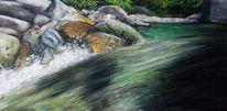 Pastellmalerei, Malerei, Wasser