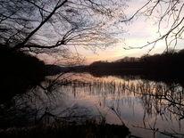 Abend, Rangsdorfer see, See, Krumme lanke
