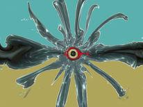 Augenfisch, Augen, Tiefsee, Outsider art