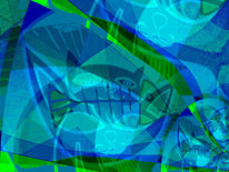 Alb, Fisch, Outsider art, Albtraum