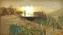 Hafen, Licht, Sonne, Digitale kunst