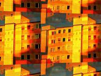Outsider art, Digitale kunst, Digital, Morgensonne