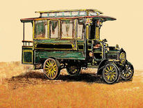 Bus, Omnibus, Outsider art, Autobus
