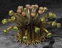 Blumen, Glas, Stillleben, Strauß