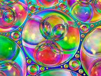 Transparenz, Farben, Perlen, Schweben