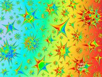 Polychromatisch, Glaskörper, Transparenz, Spektrum