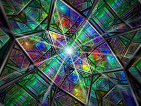 Zentralperspektive, Dreieck, Körper, Geometrie