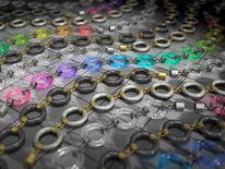 Farbglas, Silber, Polichromatisch, Gelenk