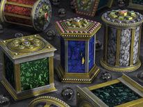 Lapis lazuli, Architektur, Zierrat, Edelmetalle
