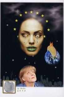 2013, Heilig, Merkel, Digitale kunst
