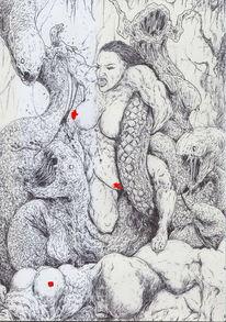 Schlange, Conan, Anatomie, Frau