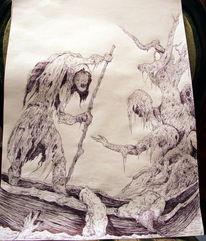 Dante, Fluss, Baum, Inferno