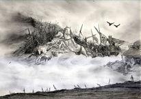 Wiking, Pferde, Ragnarök, Horror