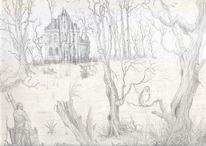 Gothic, Moor, Villa, Gotik