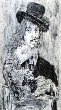 Alte meister, Mann, Holländer, Willem coymans