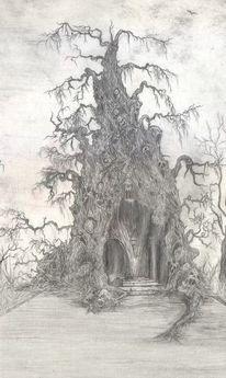 Dunkel, Baum, Hölle, Gothic