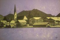 Bootshaus, Häuser, Schwarzweiß, Ufer