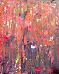 Rot, Rosa, Orange, Malerei