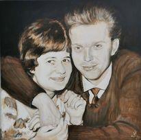 Mann, Paar, Malerei