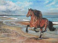 Sand, Strand, Meer, Himmel