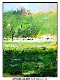 Gemälde, Busch, Laub, Wandbilder