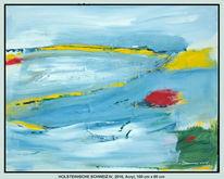 Gelb, Weiß, Licht, Horizont