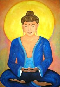 Buddha, Malerei