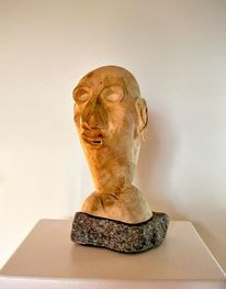 Skulptur, Braunschweig, Holz, Abstrakte kunst