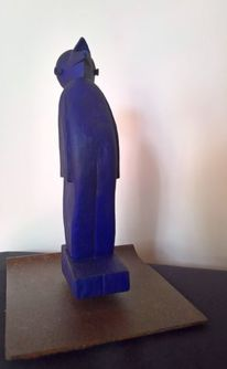 Holzbildhauerei, Holz, Moderne kunst, Holzskulpturen