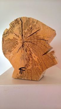 Holzskulpturen, Holzbildhauerei, Holz, Moderne kunst