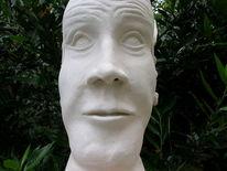 Objekt, Steinzeugton, Skulptur, Gehirn
