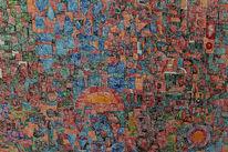 Zauberer, Abstrakt, Muster, Malerei