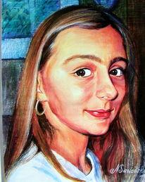 Portrait, Fotografie, Malerei, Auftragsmalerei