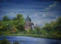 Potsdam, Potsdamcity, Stadtansicht, Malerei