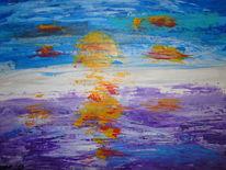 Sonne, Ozean, Meer, Sonnenuntergang