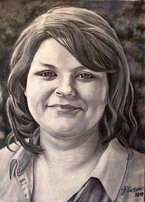 Frau, Portrait, Menschen, Malerei