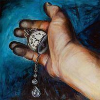 Uhr, Zeit, Vergänglichkeit, Hand
