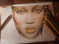 Tyra banks, Zeichnungen