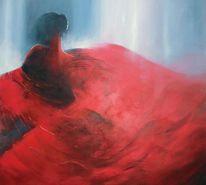 Andalusien, Acrylmalerei, Licht, Rot