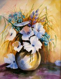 Mudau, Künstler artist, Blumen, Locker
