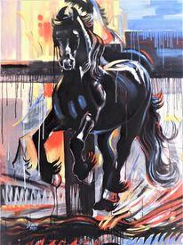 Kraft, Freiheit, Dekoration, Pferde