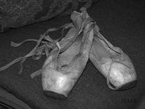 Bühne, Poesie, Spitzenschuhe, Ballett
