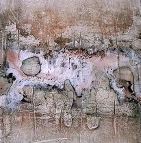 Abstrakt, Pigmente, Spachteltechnik, Malerei