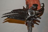 Harley davidson, Kunst und schrott, Kunsthandwerk, Paradiesvogel